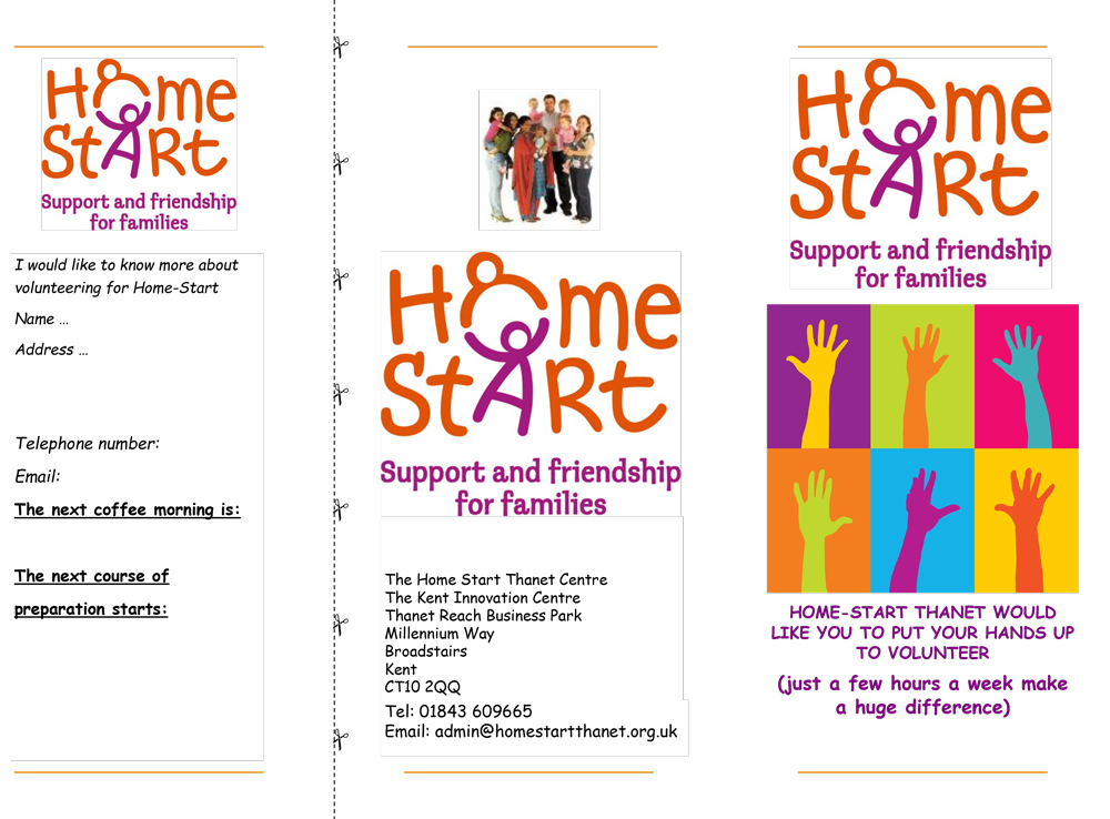 Image of Application Form Home start Thanet